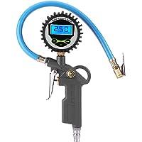 Manómetro del presión de neumáticos, Inflador de neumáticos