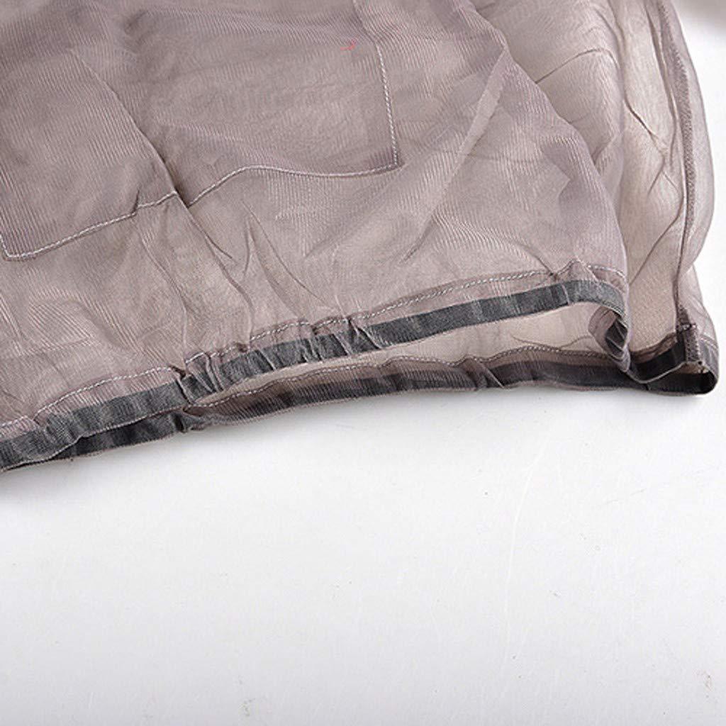 Grigio, XXXL Big Jacket Hood Mosquito Repellent Net Clothing Insect-Proof Netting Suit for Outdoor Protection,Tuta per Apicoltore per vele per apicoltori professionisti e principianti