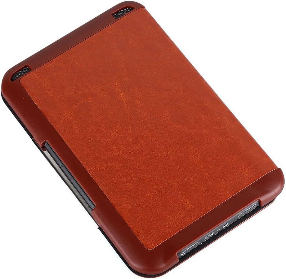KINDOYO Kindle 3 Keyboard 6 inch Book Style Leather Cover Case Purple