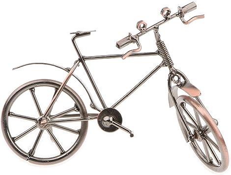 D DOLITY Modelo de Bicicleta Arte de Trabajo de Metalistería ...