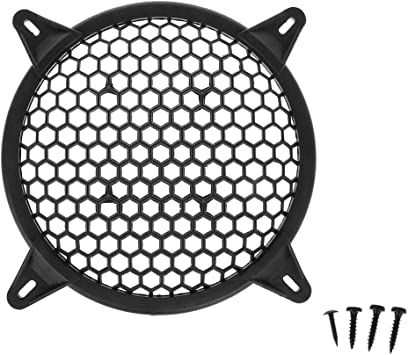 10inch Car Audio Sub Woofer Metal Grille with 4 Mounting Brackets Black Grill Cover Guard Protector Grille Auto Speaker Parts by MeiBoAll