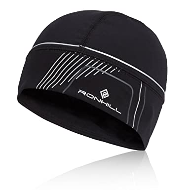 7693c1367aa48 Ronhill Run Beanie - AW18 - One Black  Amazon.co.uk  Clothing