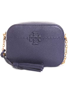 ef27020bec38 Tory Burch Thea Patchwork Crossbody Shoulder Bag in French Gray ...