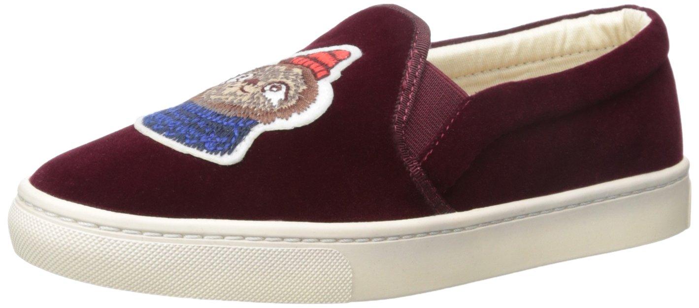 Soludos Women's Velvet Sloth Sneaker B073X7Z2M9 7 B(M) US|Wine