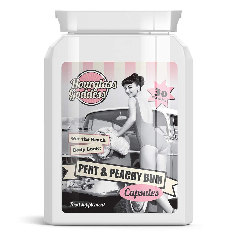 Pert & Peachy Bigger Bum Butt Enhancement 30 Capsules Per Bottle