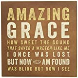 Wall Plaque - Amazing Grace