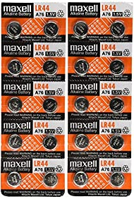Maxell LR44 Batteries YrUxYm, 2Pack (10 Count)