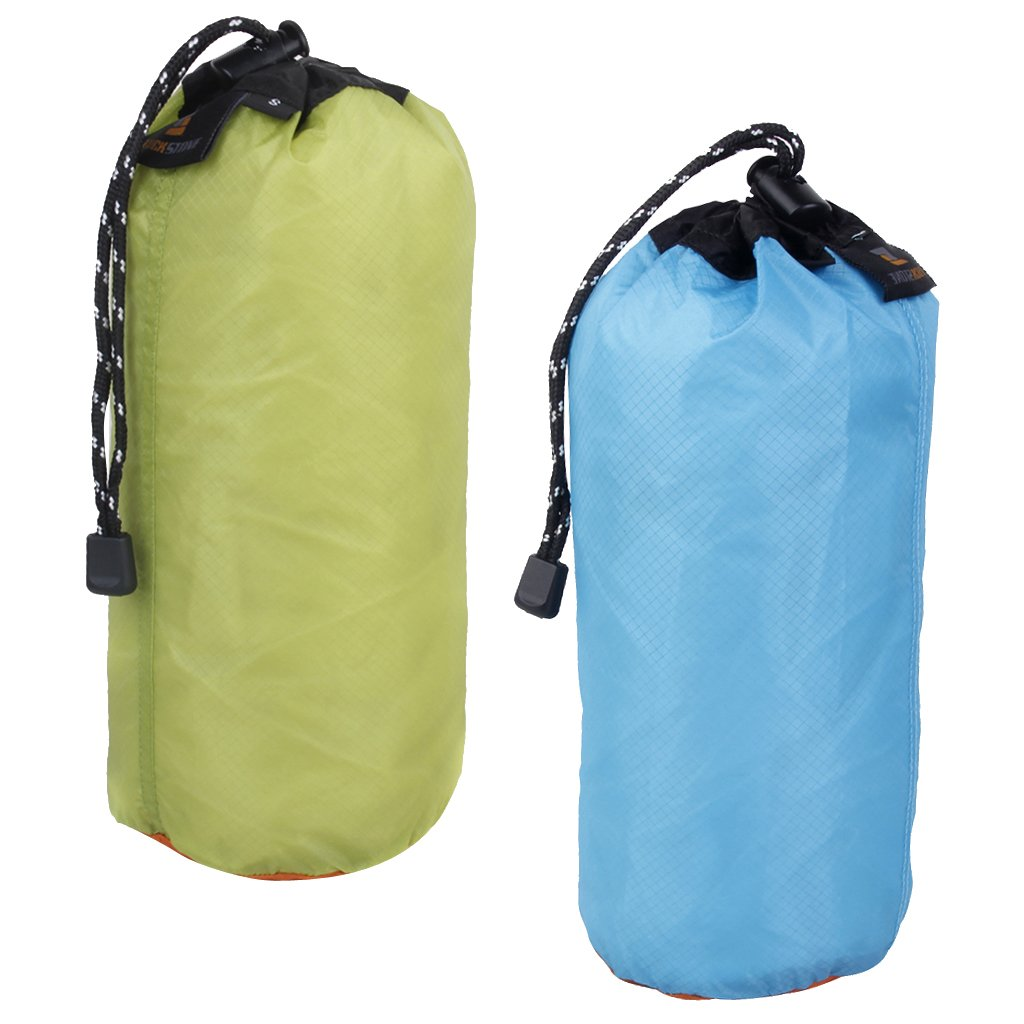 Homyl 2 Pieces Ultralight Waterproof Dry Sack Pouch First Aid Kit Dry Bag for Kayaking Camping Boating Diving Camping Hiking