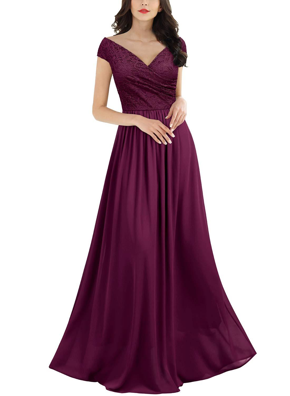 41c2d5e86 Miusol Vintage Chiffon Largo Fiesta Vestidos para Mujer product image