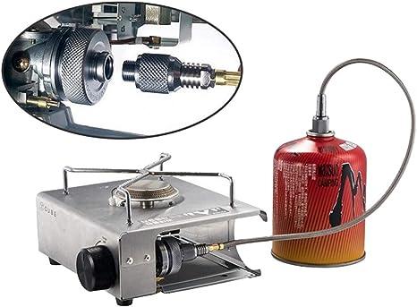 NON Conector Adaptador de Tanque de Gas para Acampar Estufa ...