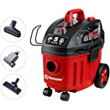 Vacmaster Shop Vac 5 Peak HP 4 Gallon Wet Dry Vacuum Cleaner with Heap Filter 2-Stage Motor Auto Cord Rewind for…