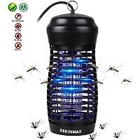 DEKINMAX Mosquitera Electrica Lámpara Anti Mosquitos Lámpara Matainsectos