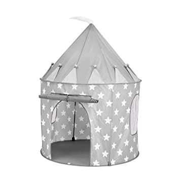 purchase cheap 0e16c aff1a Kids Concept Play Tent Star Grey: Amazon.co.uk: Baby