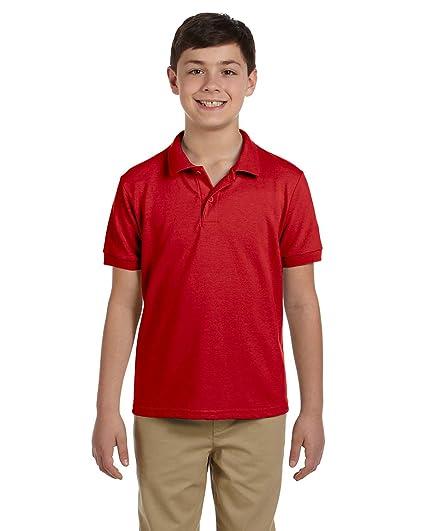 376f0cc24 Amazon.com: Gildan DryBlend Youth Piqué Polo Shirt: Clothing