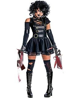 Disfraz de Eduardo Manostijeras Mujer Cosplay Halloween Carnaval de LaLaAreal