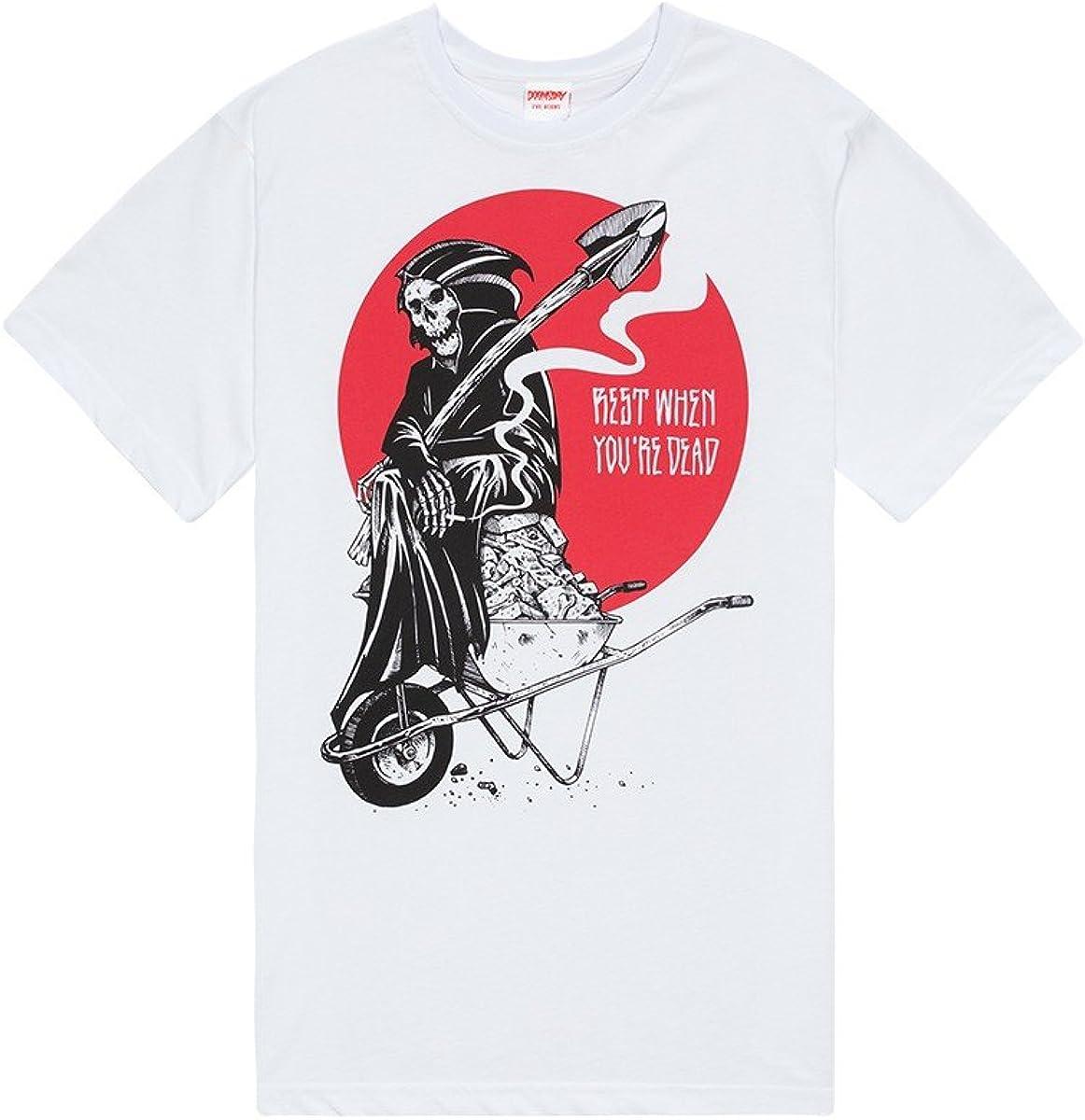 Doomsday - Camiseta - para Hombre Bianco S: Amazon.es: Ropa y accesorios