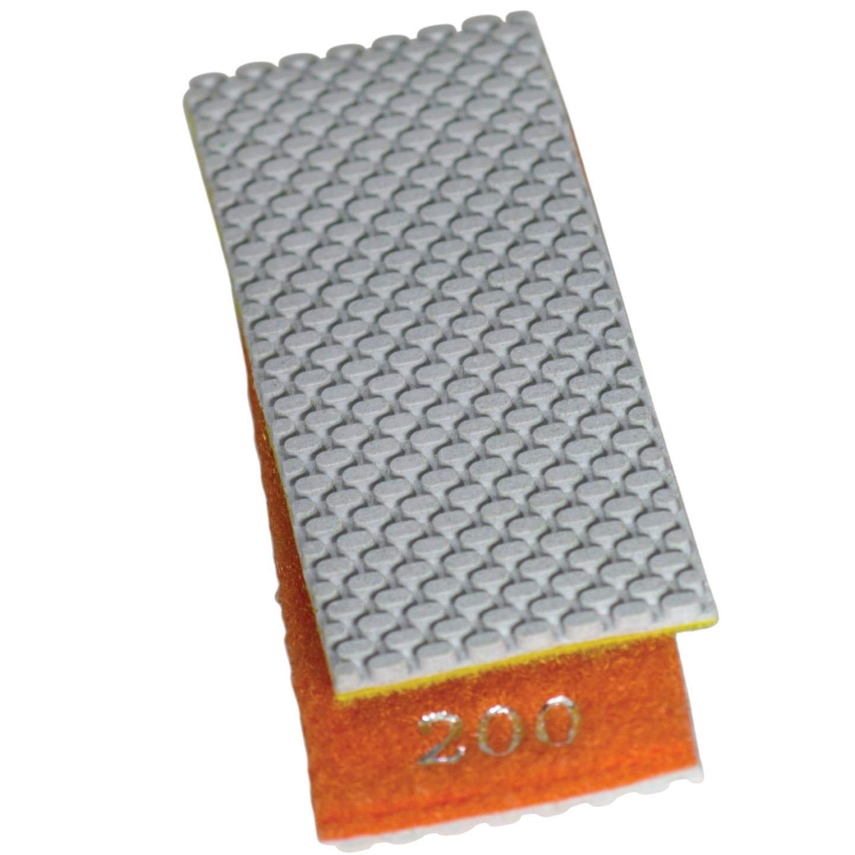 Stadea HPW110H Diamond Hand Polishing Pads Flexible for Concrete Glass Marble Stone Polishing, 7 Pads 1 Backing Pad Set by STADEA (Image #4)
