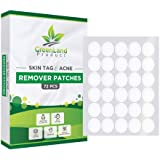 Skin Tag and Acne Remover Patches (72 Pcs) Natrual Ingredients Medicated Patches,Pimple Dries and Falls away, Covers and…