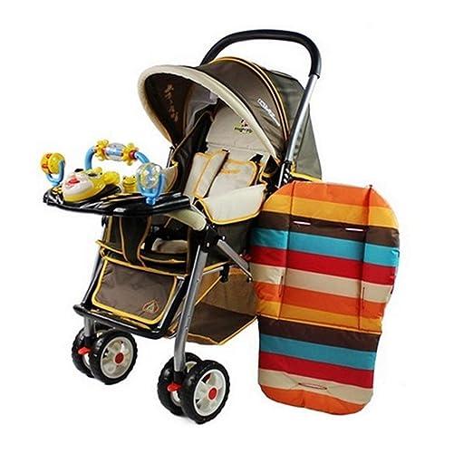 Baby Sitzkissen Liner Mat Pad Abdeckung f/ür Kinderwagen Auto Baby Hochstuhl 100/% Baumwolle Atmungsaktive Wasserdichte Liner Mat Pad Protector Baby krankenschwester 1 St/ück Blau