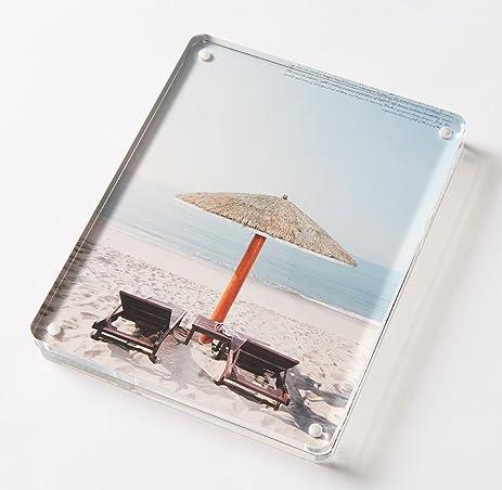 Amazon.com: Minimalism Art   Clear Acrylic Photo Frames, 8\