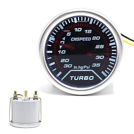 Amazon Com Dyno Racing Gauge Pulse 2 52 Mm Lens Smoke