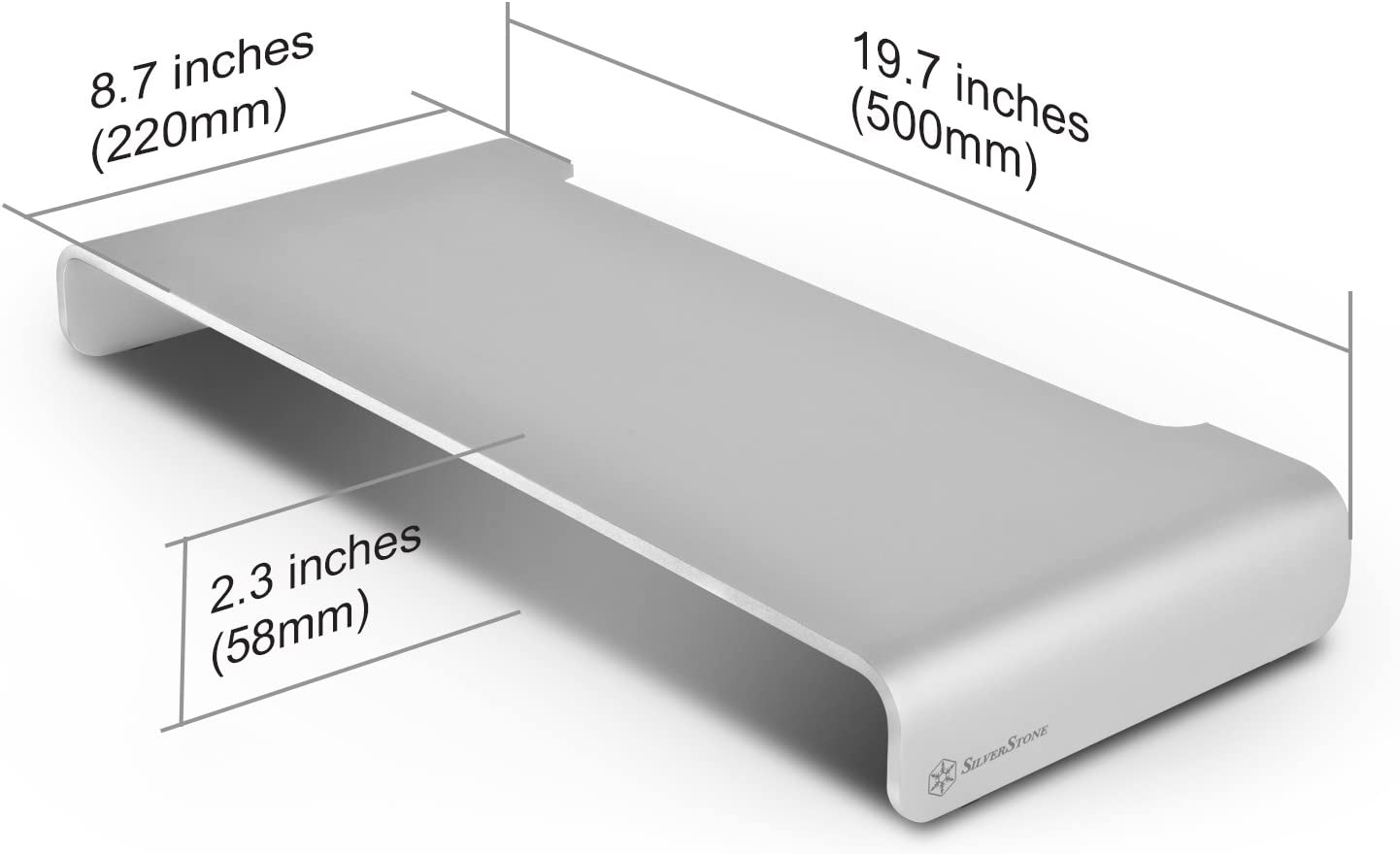 Silverstone Sst Mr01s Ergonomischer Aluminium Computer Zubehör