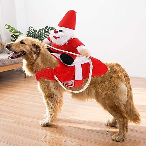 wonderday Disfraz de Navidad para Mascotas, Ropa de Navidad para ...