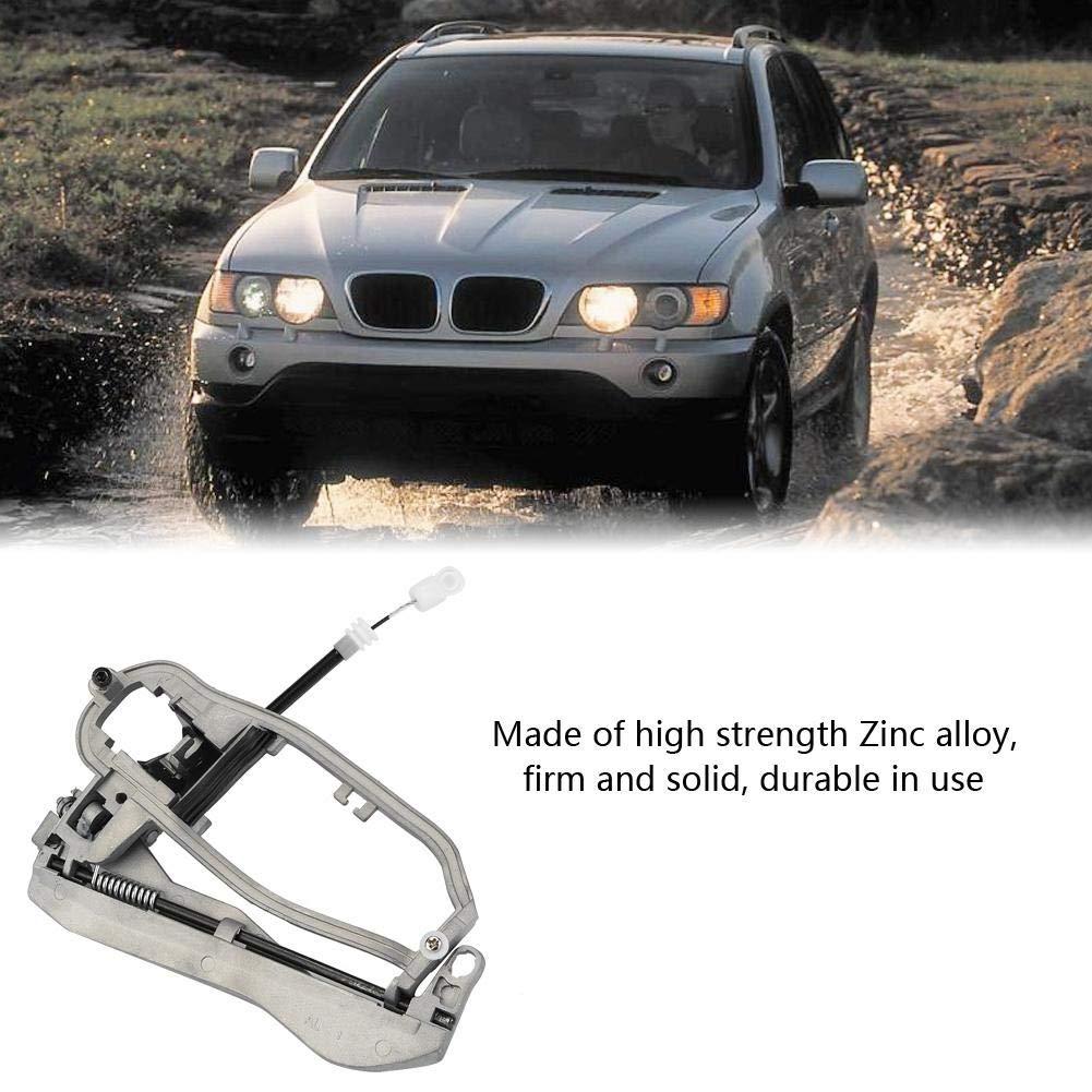 Rear Left BM W E53 Maniglia per porta maniglia in lega di zinco per portiere esterna