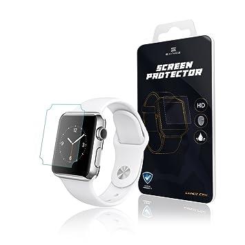 EXINOZ® Apple Watch Protector para Pantalla 1 año de garantía de reemplazo |Lo Mejor para su Smart Watch de Apple (38mm)