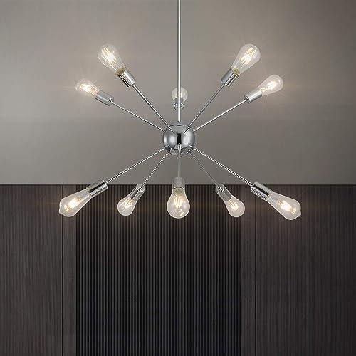 Sputnik Chandelier ,10 Lights Chandelier