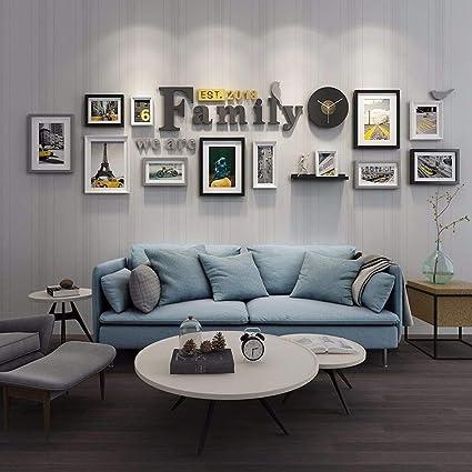 WUXK Foto di pareti Decorate in Uno Stile Minimalista ...