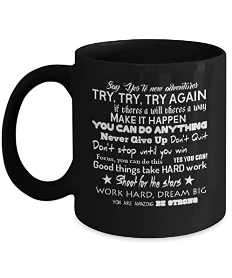 Amazon Motivational Quotes and Famous Sayings Ceramic