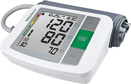 Medisana BU 510 Tensiómetro para el brazo, pantalla de arritmia ...