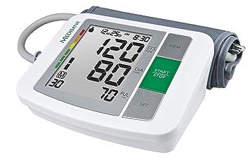 Medisana BU 510 Tensiómetro para el brazo, pantalla de arritmia, escala de colores de los semáforos de la OMS, para una medición precisa de la tensión ...