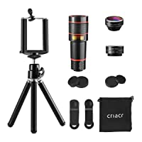 Amazon.com deals on Criacr 3 in 1 Smartphone Cell Phone Telephoto Lens Kit US-CP57