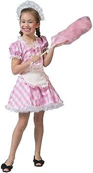 Luxuspiraten – Disfraz Infantil para niña, Color Rosa y Blanco ...