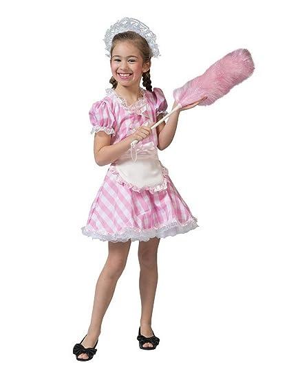 Luxuspiraten - Disfraz Infantil para niña, Color Rosa y ...