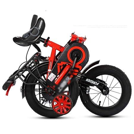DT Bicicleta para niños 2-3-4-6-7-8-9-10 años Carro de bebé ...