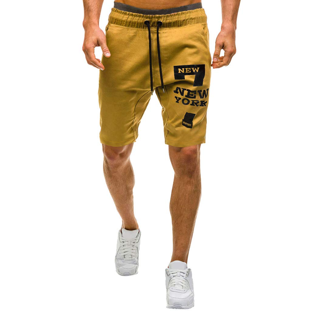 SCHOLIEBEN Gym Jogging Hosen Hose Kurze Herren Outdoor Sommer Chino Stretch Regular Slim Fit Sport Bodybuilding Jogginghose Stoffhose Sporthose