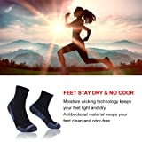 Running Socks Men, ZEALWOOD Men's Women's Multi