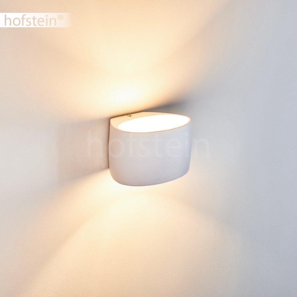 Aplique Rho de cer/ámico blanco dormitorio sal/ón pintable pasillo
