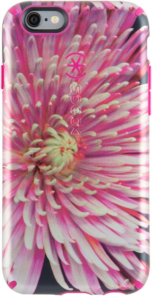 Speck Products CandyShell Inked Luxury Edition Case for iPhone 6 Plus/6S Plus - Retail Packaging-Hypnotic Bloom/Fuchsia Pink - 73805-5040