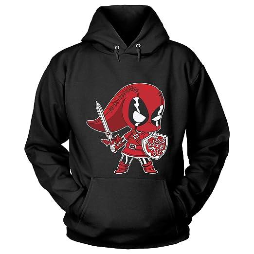 Amazon Com Cntstore The Legend Of Zelda Deadpool T Shirt Funny