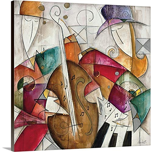 - GREATBIGCANVAS Gallery-Wrapped Canvas Entitled Jam Session II by Eric Waugh 10