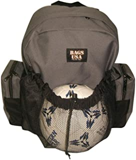 product image for BAGS USA Soccer Equipment Backpack,Team Sport Soccer Backpack Made in U.s.a.
