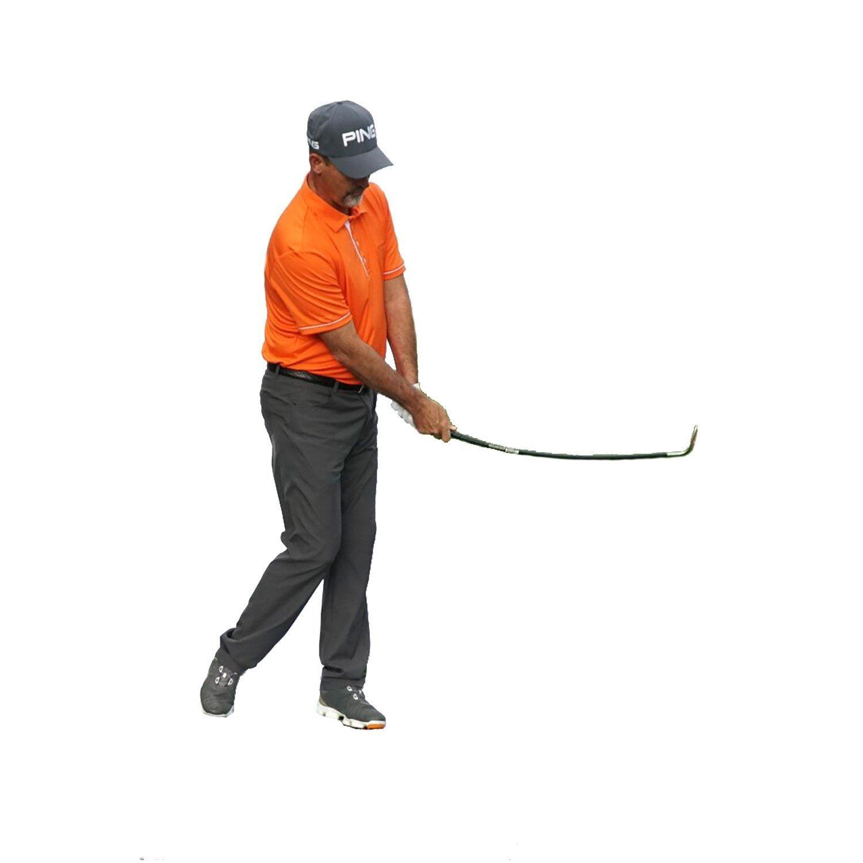 Orange Whip WEDGE, Golf Short Game Swing Trainer (left)