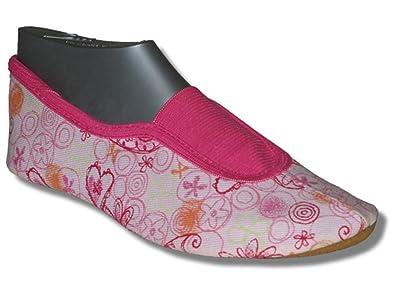 BECK Gymnastikschuhe, Turnschuhe, SchlÃppchen Ristgummieinsatz HEART rosa  Nr. 231: Amazon.de: Schuhe & Handtaschen