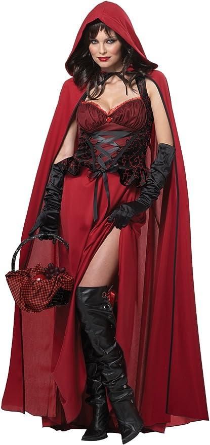 California - Disfraz de Caperucita Roja para Halloween para Mujer ...