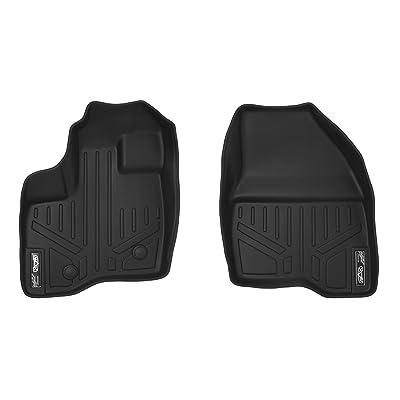 MAXLINER Floor Mats 1st Row Liner Set Black for 2011-2014 Ford Explorer: Automotive
