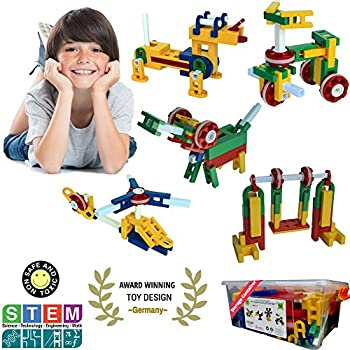 Amazon.com: CTK Engineer Building Set – Fun STEM Toys 3, 4